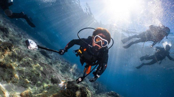 水肺潛水; 自由潛水